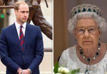 Prince William Queen Elizabeth II Image Getty