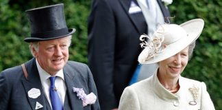 Princess Anne and Andrew Parker Bowles still friends in Image GETTY