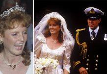 Princess Beatrice wedding tiara The York tiara worn by Sarah Ferguson Image Getty