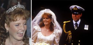 Princess Beatrice wedding tiara The York tiara worn by Sarah Ferguson Image Getty