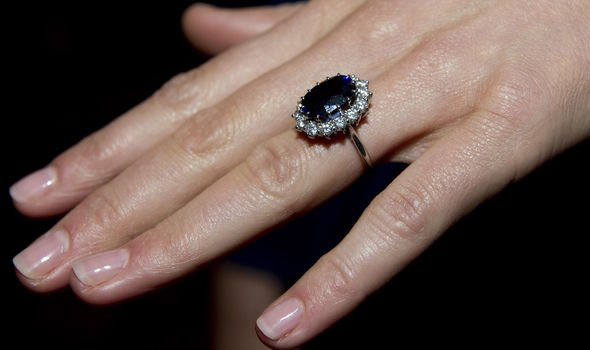 Princess Diana Kate Duchess of Cambridge now wears Princess Dianas engagement ring Image Arthur Edwards WPA Pool Getty Images
