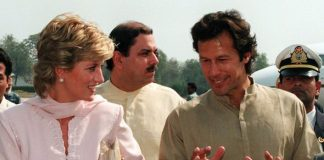 Princess Diana and Imran Khan Image GETTY