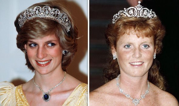 Princess Diana and Sarah Ferguson Image Getty
