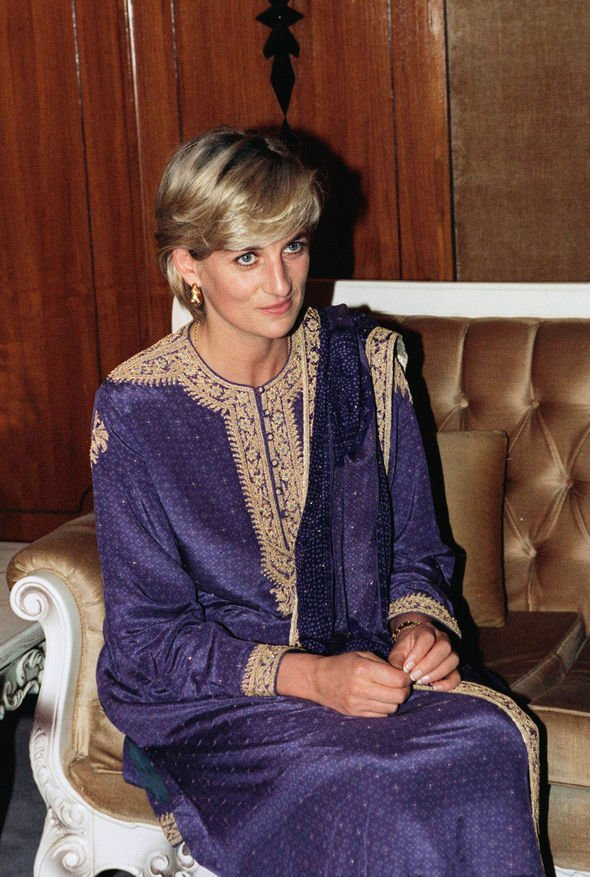 Princess Diana tribute Princess Diana visited Pakistan three times during the s Image GETTY
