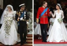 Princess Diana wedding Diana and Kate Duchess of Cambridge both used lily of the valley Image GETTY