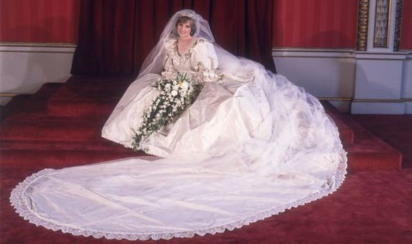 Princess Dianas wedding day portrait