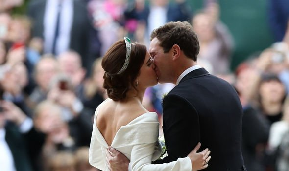 Princess Eugenie and Jack got married in October last year