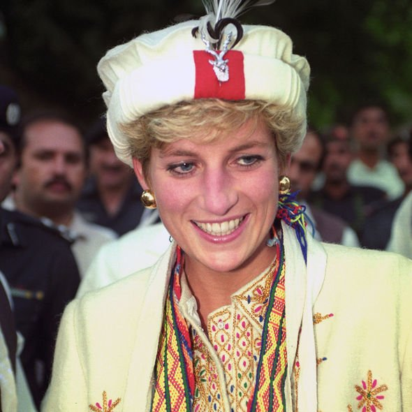 Princess of Wales wears a Chitrali hat and embroidered coat during her visit in Image PA