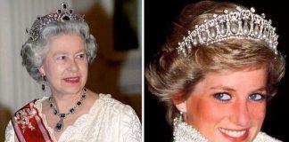 Queen Elizabeth II and Princess Diana Image Getty