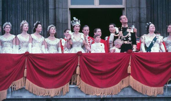 Queen Elizabeth IIs coronation in Image Getty
