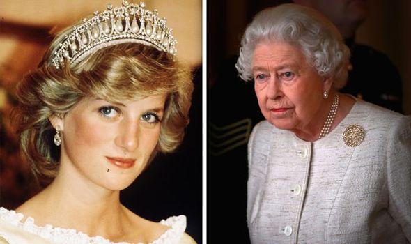 Queen heartbreak Queen's shocking response on hearing of Princess Diana's death Image GETTY