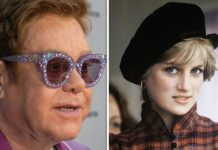Royal Family news Elton John admits his real fear for Princess Diana funeral performance Image GETTY