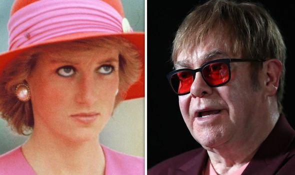 Royal news Elton John reveals the devastating reason why he fell out with Diana Image GETTY