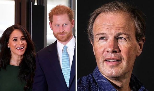 Royal outrage Tom Bradby was accused of fawning over Meghan and Harry Image Getty Images