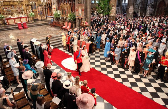Royal wedding Kate and Wills tied the knot in Westminster Abbey Image GETTY