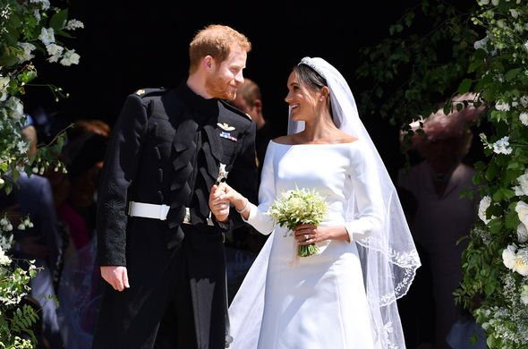 Royal wedding Meghan and Harry married at St Georges Chapel Image GETTY
