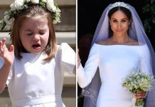 Royal wedding Princess Charlotte was wearing toxic flowers in her hair for Meghan Markles wedding Image GETTY