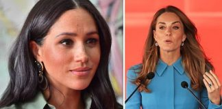 Rumours of a feud between Meghan and Kate started in late Image GETTY