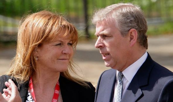 Sarah Ferguson news Sarah and Prince Andrew have called themselves the happiest divorced couple Image GETTY