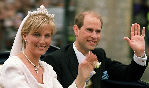 Sophie joined the Royal Family when she married Edward the Queens youngest son in Image GETTY