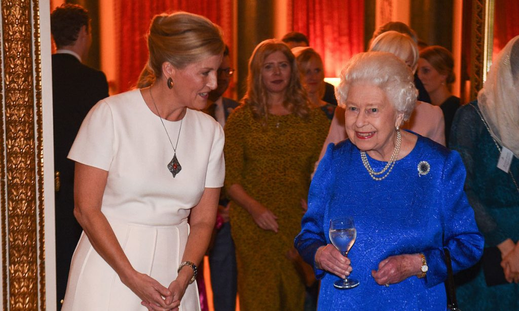 The Countess of Wessexs affectionate nickname for the Queen revealed Image Getty Images