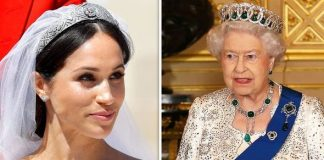 The Duchess of Sussex and Queen Elizabeth II Image Getty
