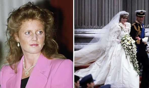 The Duchess of York The Prince and Princess of Wales Image Getty