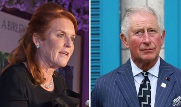 The Duchess of York and Prince of Wales Image Getty