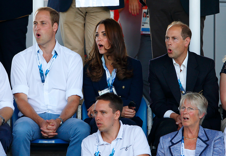 The Duke and Duchess of Cambridge Photo C GETTY IMAGES