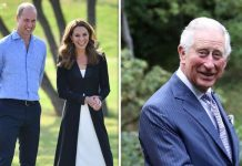 The Duke and Duchess of Cambridge and Prince of Wales Image Getty