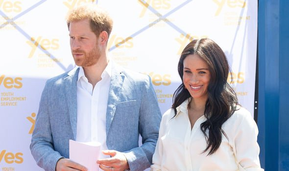 The Duke and Duchess of Sussex will appear in a documentary about their tour of South Africa Image GETTY