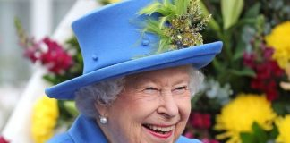 The Queen looked in good spirits as she arrived in London Image GETTY