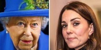 The Queen reportedly put Kate in a difficult position Image GETTY