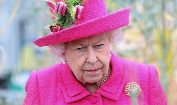 The Queen told a friend last year her knees were playing up Image GETTY