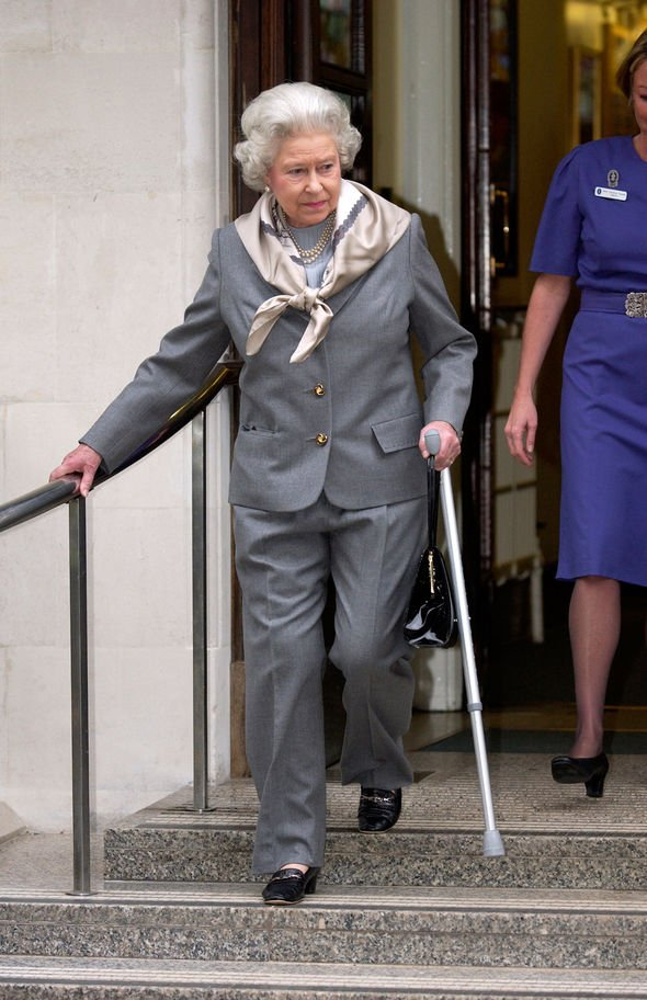 The Queen took a few weeks off after her operation in Image GETTY