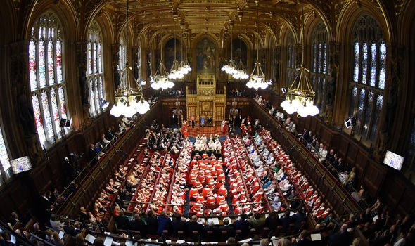 The Queens Speech is the only regular occasion where the three branches of power meet together Image GETTY