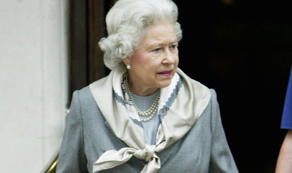 The Queens operation at her knee was carried out at the King Edward VII Hospital Image GETTY