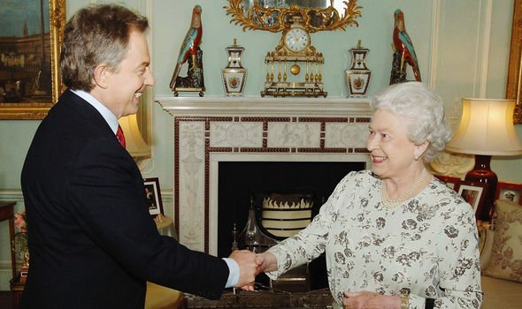 Tony Blairs relationship with the Queen was not an easy one Image GETTY