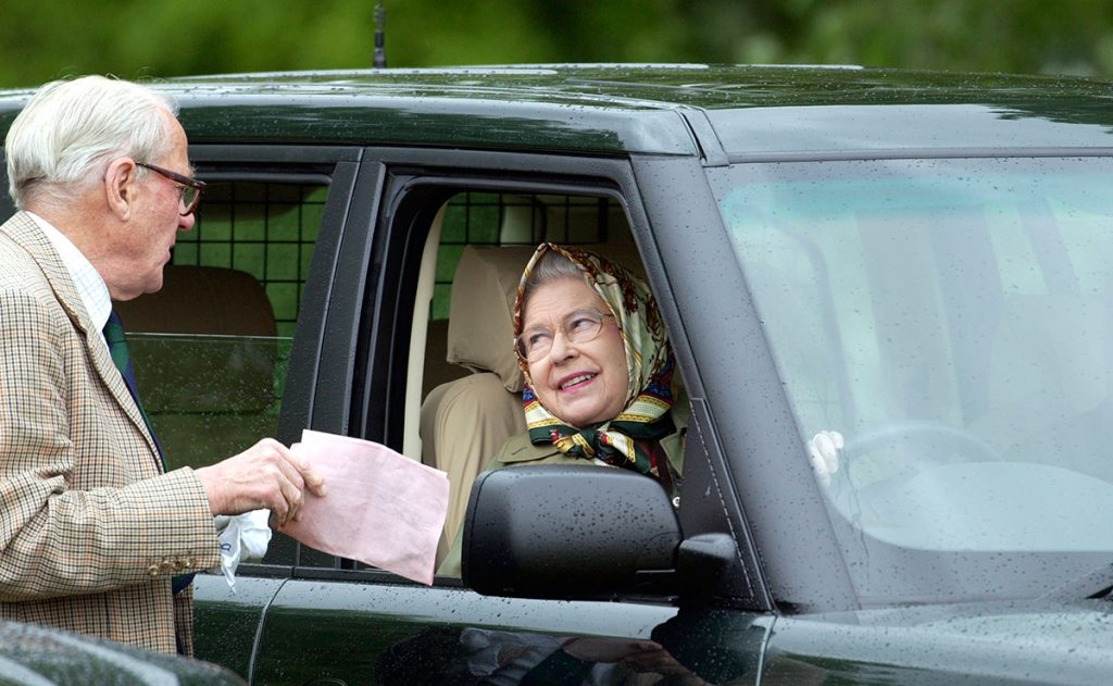 Why the Queen doesnt own a license and doesnt need one to drive Image GETTY