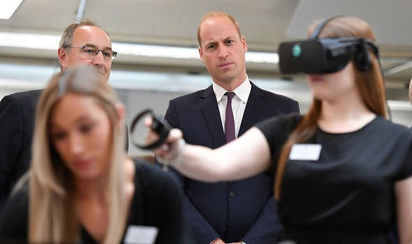 William also learnt about Virtual Reality Image Getty Images