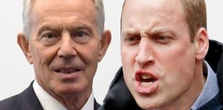 cropped Prince William was said to be furious with Tony Blair Image GETTY