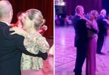 cropped Sophie Wessex was spotted dancing in the Blackpool Tower Ballroom