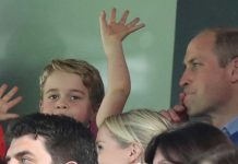 cropped Why Prince William had to tell Prince George to contain his excitement at football match Photo C GETTY IMAGES