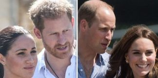 cropped ow Harry's intervention mirrors William's protection of Kate Image GETTY
