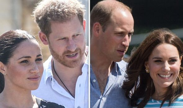 ow Harry's intervention mirrors William's protection of Kate Image GETTY