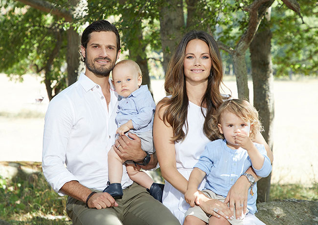 rince Carl Philip and Princess Sofia have two sons Photo C GETTY IMAGES