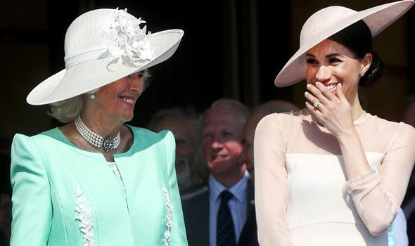 A royal source said Camilla wants everyone to be happy