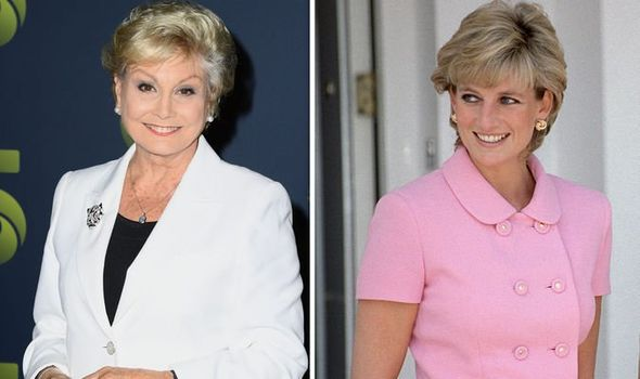 Angela Rippon and Princess Diana The royal secret she shared with Angela before wedding Image GETTY