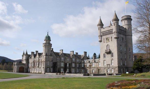 Balmoral royal residence