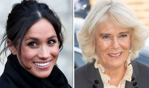 Camilla has been a pillar of support to Meghan and Harry Image Getty Images